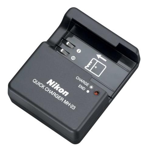 Cargador De Batería Mh 23 Para Nikon En El9 D3000 D5000 D60