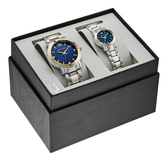 Reloj Bulova Para Caballero Modelo: 98x117 Envio Gratis