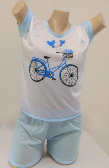 Kit 10 Pijama Blusinha E Short Curto/short Doll