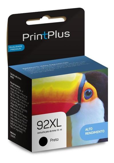 Cartucho Tinta 92 Preto C9362wb 13ml Printplus - Pp092
