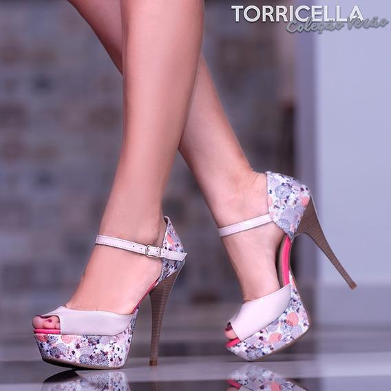 Sandália Sapato Feminino Moda Torricella Salto 13cm,promoção