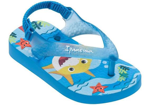 Chinelo De Dedo Infantil Baby Shark Unicornio Elastico 17/24