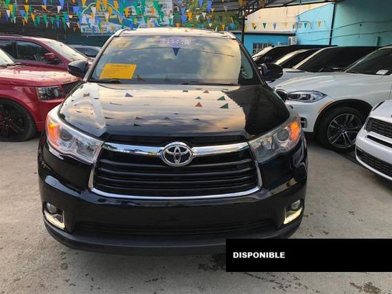 Toyota Highlander Limited 2015 Negra