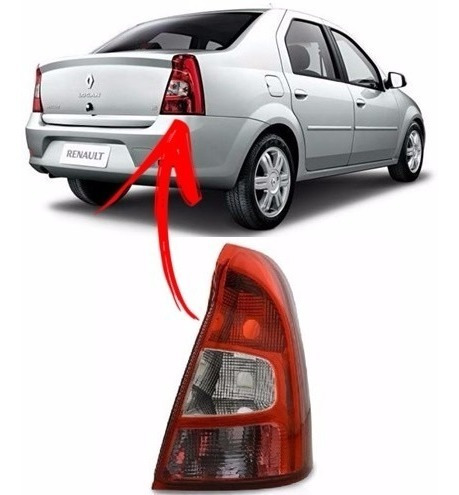 Lanterna Renault Logan 2011 2012 2013 Direito