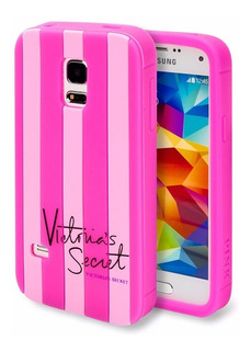 Forro Samsung S5 Mini Victoria Secret Rayas