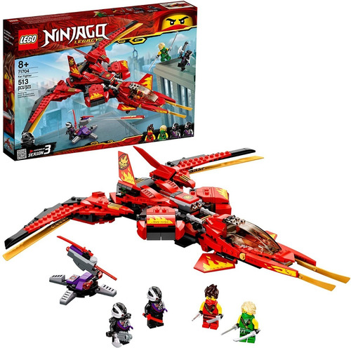 Lego Ninjago 71704 Kai Fighter 513 Pzs