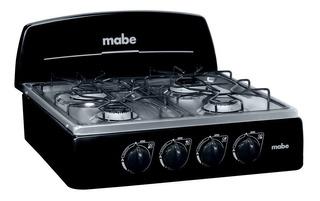 Cocineta 4 Puestos A Gas De 51 Cm Color Negro Cm51cnxp0