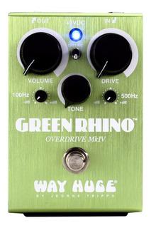 Way Huge Green Rhino Whe207 Mk4 Overdrive Pedal - Cuotas