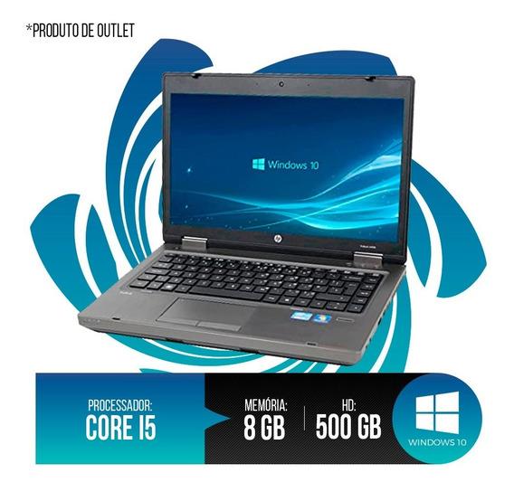 Notebook Hp Probook Intel Core I5, 8gb Ddr3, Hd 500gb
