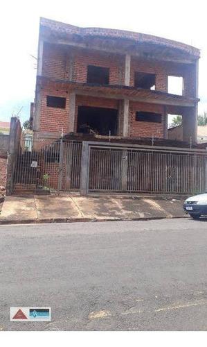 Sobrado Com 4 Dormitórios - Nova Ourinhos - Ourinhos/sp - So1421