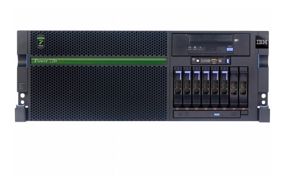 Servidor Ibm Power7 P720 Octacore 3.0ghz / 128gb Ram / 4 Hds
