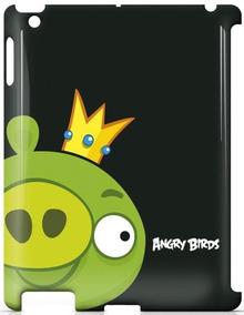 Capa Angry Birds Ab Pig Vs Red Bird Para iPad 2 E Novo iPad