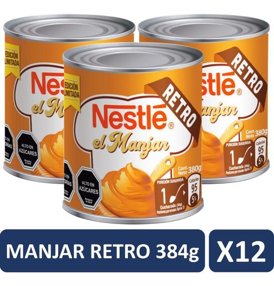 Manjar Nestle Retro 380g Pack X12