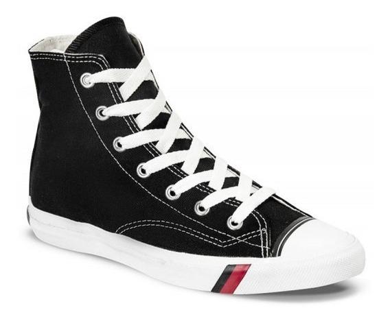 Zapato Royal Royal Hi Cut Negro Para Hombre