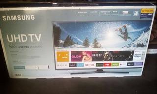 Smart Tv Lg Samsung 55 Uhd 4k Wifi Bluetooth Mando De Voz