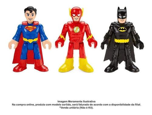 Imagem 1 de 4 de Boneco Articulado 26 Cm Imaginext Dc Comics Mattel - Gpt41