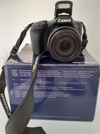 Canon Powershot Sx530 Hs+cartão De Memória 16gb C/ Adaptador