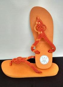 Sandálias Em Macramê
