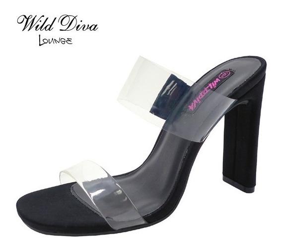 Sandalias De Tacon Importadas Marca Wild Diva Lounge