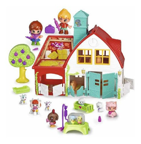 Pinypon Granja C/11 Fig + Acc Int 14260 Pin&pon