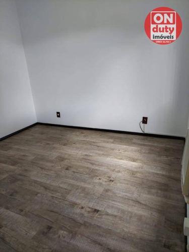 Apartamento Com 2 Dormitórios Para Alugar, 70 M² Por R$ 1.915,00/mês - Vila Belmiro - Santos/sp - Ap7017