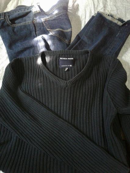Sueter Rever Pass Azul Noche A-nuevo Sweater T-l Video Envio