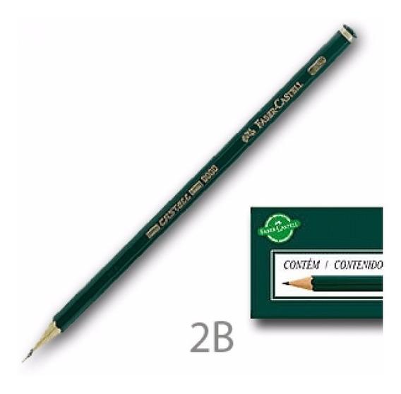 Caixa Com 12 Lápis Preto Regente 2b