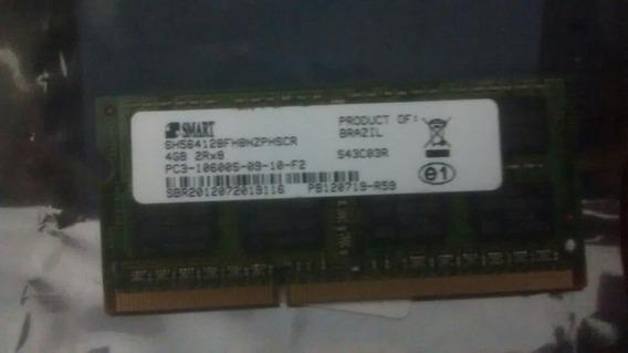Memoria Smart 4gb 1333 Notbook 1.5v