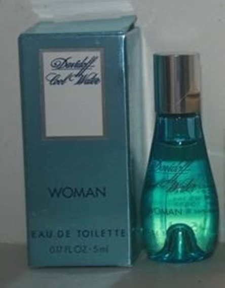 Miniatura De Perfume: Davidoff - Cool Water Woman - 5 Ml