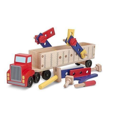Camión Grande Con Juego De Construcción