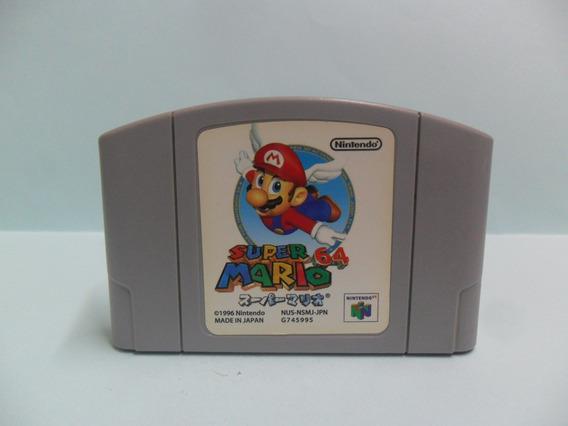 Super Mario 64 - Nintendo 64 - Original - Japonês