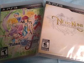 Ni No Kuni + Tales Of Graces F Ps3 - Perfeitos