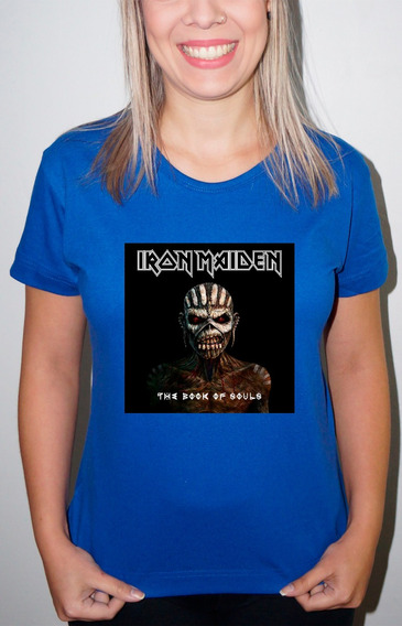 Baby Look Ou Camiseta Iron Maiden