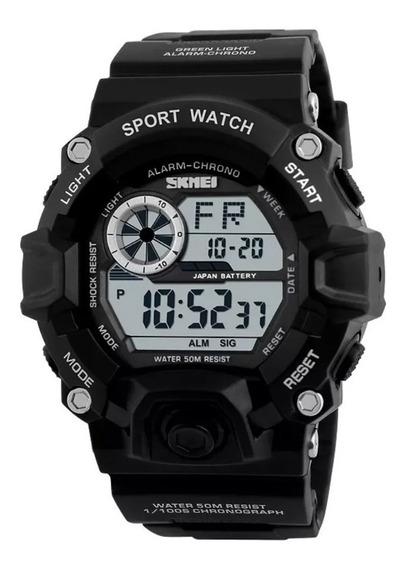 Relógio Militar Shock Skmei Digital Prova D`água