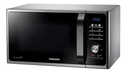 Imagen 1 de 2 de Microondas 28lts Samsung Mg28f3k3tas Silver 900 W Grill