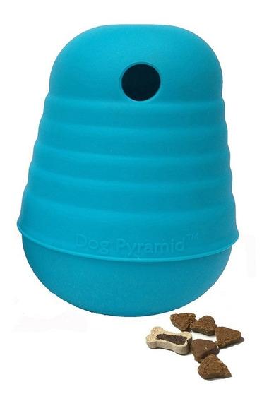 Brinquedo Cachorro Pirâmide Dispenser De Alimentos Grande