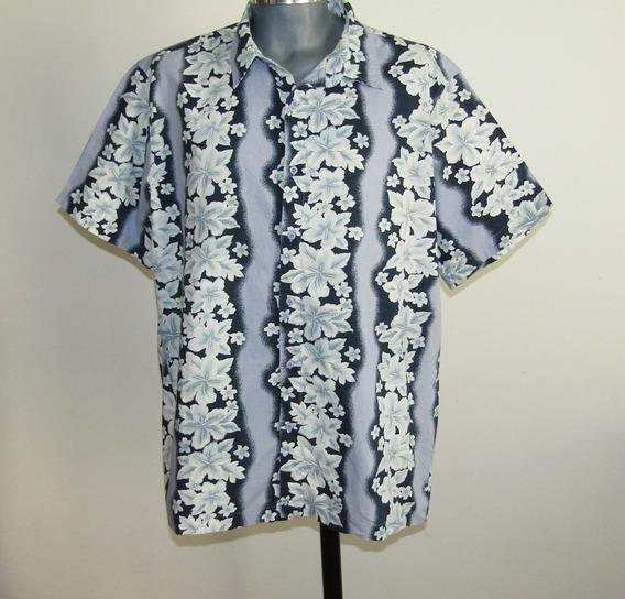 Cherokee Padrisima Camisa Hawaiiana Talla Xl 100% Algodon