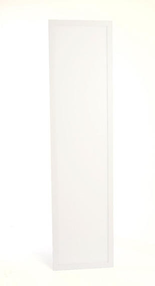 Luminária Led Retangular 30x120 36w Embutir Branco Neutro