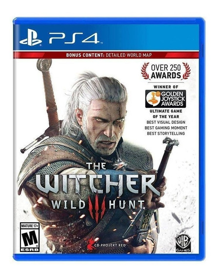 The Witcher 3 Wild Hunt Ps4 Midia Fisica Português