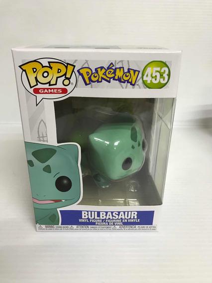 Funko Pop 453 Pokemon Bulbasaur Nuevo Original