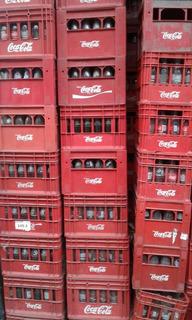 Cajones De Gaseosa Linea Coca- Cola 350cc.con Envases Vacíos