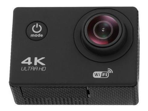 Camera Sport 4k Wifi Resistente A Agua Com Kit Sports