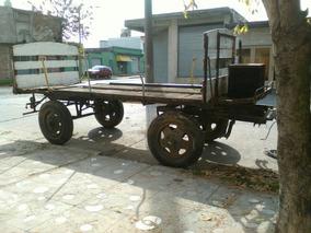 Acoplado Carro Rural Mudanza Obra Reparto Ideal