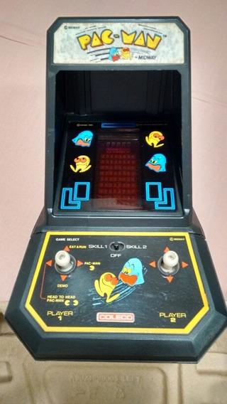 Coleco Midway Pac Man Mini Arcade! Ótimo Estado!funcionando!