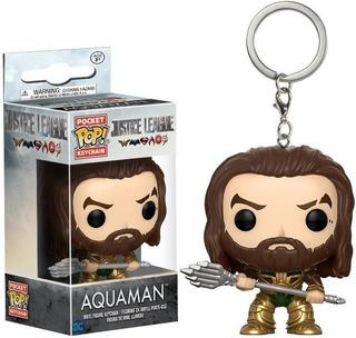 Funko Pop Keychain Aquaman Justice League -minijuegosnet