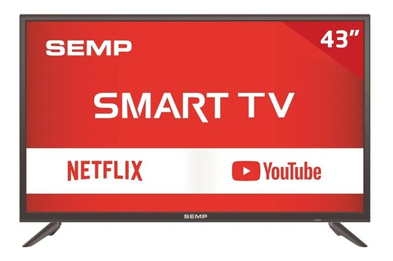 Smart Tv Led 43 S3900s Semp Tcl, Full Hd Hdmi Usb Com Wi-fi Integrado