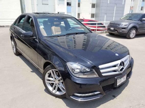 Mercedes-benz Clase C 2013 4p C 200 Cgi Sport Aut