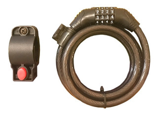 Cadena Linga De Seguridad - Con Combinacion - 10mm X 1200mm