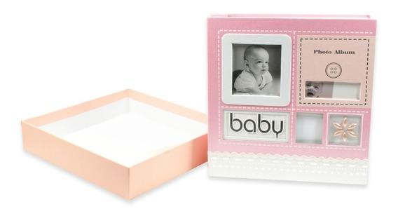 Álbum Bebê Recordações Pb-440-ro Para 100 Fotos 15x21