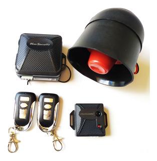 Alarma Max Security,2 Controles 4 Botones, Sirena
